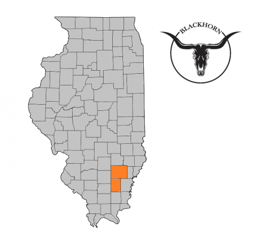 Blackhorn IL Map